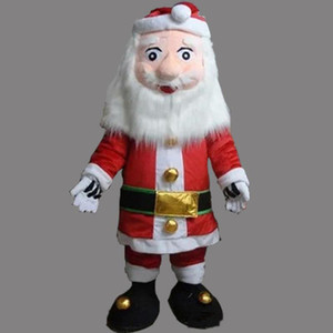 Yüksek qualoty Noel Santae Clause maskot kostüm özel fantezi kostüm anime cosply kitleri mascotte fantezi elbise karnaval kostüm