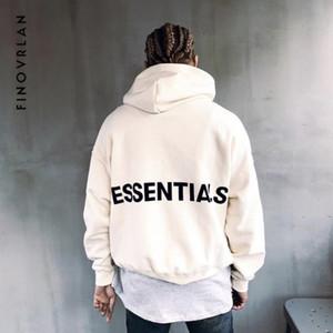 Homens de Kanye West Hooides Medo de Deus Camisolas de Inverno Dos Homens Hip Hop Streetwear Carta impressão de Lã Com Capuz Homem clothing