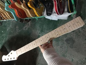 Real Pictures From Factory 6 Strings Maple Fingerboard Bass Guitar Neck ,Can Offer Many Kinds Of Necks