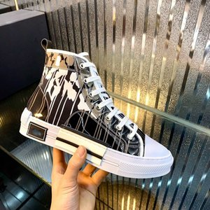 xshfbcl 2020 progettista B23 Oblique High Low Top Sneakers Obliques Technical Leather 19SS Flowers Technical Outdoor luxe Casual Shoes