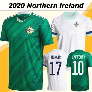2020 Copa de Europa LAFFERTY MCNAIR Magennis para hombre de los jerseys del fútbol de Irlanda del Norte Selección Nacional de Fútbol Verde Camisas Uniformes