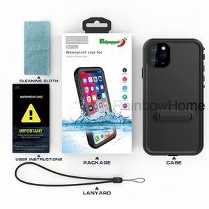 Redpepper subacquea impermeabile antiurto Snowproof ibrida Armatura Fondello anti caduta per iPhone 11 Pro Max XS XR Samsung S10 S20 Plus Ultra