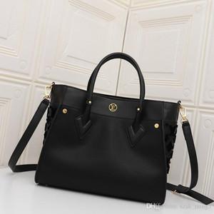 Neue Art und Weise Luxuxstickerei hydraulische Schultertasche Damen Damen Fadenfarbe passende Handtasche Tasche weich und bequem M53825X2 einkaufen