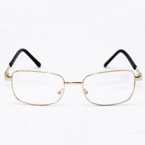 Occhiali da lettura all'ingrosso portatile pieghevole occhiali da lettura in metallo occhiali da lettura convenienza in tasca più vecchio argento oro colore DH0672