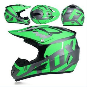 FOX hors route casque moto AM descente casque d'équitation plein casque VTT DH MX moto complète hors route certification DOT