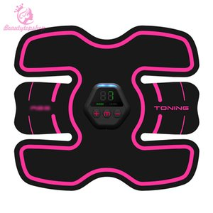2020 Hot sale Body Slimming Belt Muscle Training Device Workout Training Gear Muscle Building electrotherapy slimming
