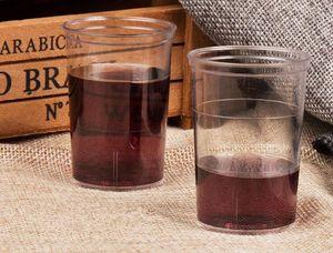 5oz 148ml, 44ml 1.5oz, ps disposable dessertps disposable beverage cup transparent plastic cocktail glass buffy, mousse fruit smoothie glass
