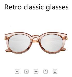 Yeni Lady Elips Moda Gözlük Retro Erkek Kedi Göz Güneş Sürüş Spor Seyahat UV400 Güneş Moda