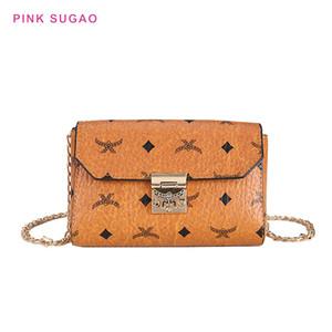 Rosa Sugao deisgner Umhängetasche Frauen Handtasche Luxus-Handtasche kleine neue Art und Weise Schulterhand heiße Verkäufe Kettenbeutel Minidametelefonbeutel