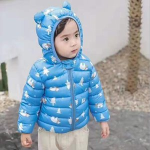 Spring Autumn Baby Jacket Boys Girls Cotton Coats jacket Toddler Baby Child Hooded Jackets Printing Cartoon Clothes