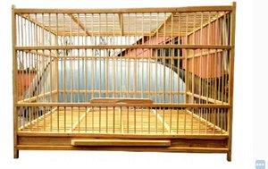 Супер Большой Бамбук Cock Cage 50см ручной дышащий гнездо Традиционные китайские Народные ремесла Pet продукта Птица дом Птица Принадлежности для питомцев
