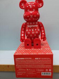 HOT 400% 28CM Bearbrick alphabe tstyle chiffres jouet pour collectionneurs Be @ rbrick décorations modèle travail Art cadeau enfants