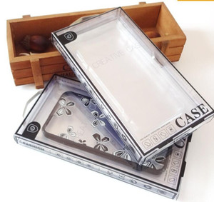 Fashion Cellphone Box Plastic Packing Box For smart phone 4.7inches and 5.5inches transparent retail packing