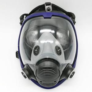 Full Face Free Full Gas Mask 6800 Pour Masque Visage Spraying pièce faciale respirateurs Peinture Expédition Vlqnf