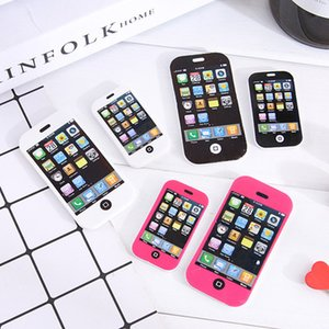 iphone mobile phone Cute Kawaii Matches Eraser Lovely Colored Eraser for Kids Students Creative Item Gift