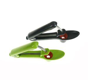 Нержавеющая сталь + ABS Cherry Corer Новое прибытие Вишня Вишня Сеялка Устройство Easy Squeeze Grip Фрукты Овощной инструмент