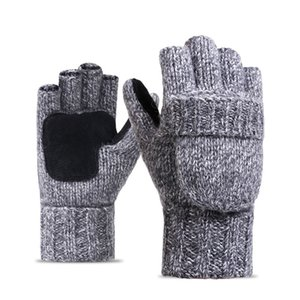 High-quality Gloves Women's Winter Mittens Hand Warmer Wool Knitted Glove For Women Thermal Warm Thicken Fitness Gloves