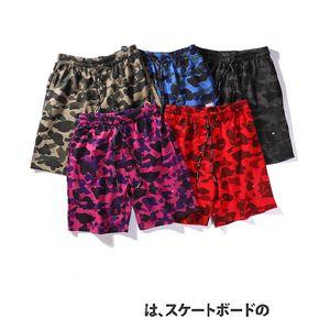 2020 uomini del progettista pantaloncini estivi Pantaloni Pantaloncini sportivi Marca corte con Bule Logo stampa mimetica ricamo Limited Edition