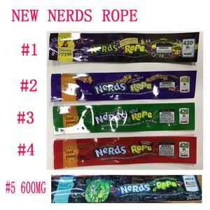 Nerds CORDA esotiche 420 Infuso gomme al 710 Edibles Packaging lungo Tre bordo di tenuta Bag Odore Proof Candy cibo pacchetto Bag