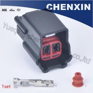 Black 2 connecteurs à broches auto-14S411 3U2Z-EKB connecteur femelle fil voiture automobile bouchon étanche de connecteur capteurs de température de l'air