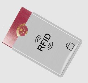 آمنة مكافحة سرقة مكافحة المسح RFID حجب جواز السفر الأكمام ID المغناطيسي IC بطاقة الائتمان تلامس حقيبة التخزين NFC للحصول على حماية هدية عيد الميلاد
