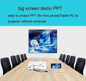 Адаптер iPhone AV, IPad к HDMI VGA и AV-концентратор адаптер конвертер для iPhone Samsung Android телефон