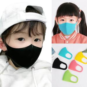 Face Mask niños 3pcs / set Niños del polvo anti Earloop máscara protectora Máscaras ciclo al aire libre a prueba de polvo lavables OOA7773