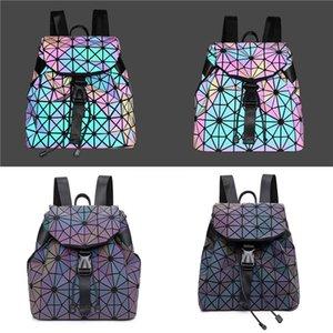 Женщины Коробка Сумка 2020 Новый Бренд Дизайнер Мода Плед Лазерная Сумка Цепь Ромб Маленькая Квадратная Сумка # 414