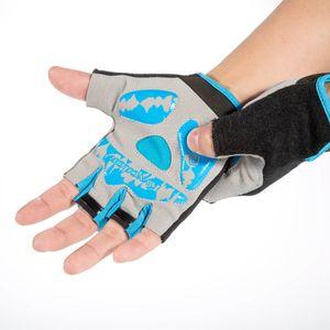 2019 New Cycling Handschuhe Fingerless halbe Finger-Handschuhe Bike Riding Mitts Handschuhe