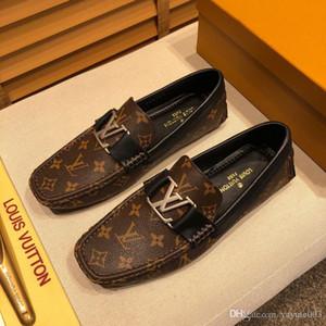 iduzi Nouveau design rouge Bottoms hommes chaussures plates robe de soirée de mariage mocassins à pompons de pointes noires Oxfords chaussures en cuir