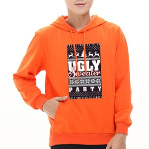 amantes do hoodie da camisola do Natal outono e inverno e caxemira pulôveres Camisola Casais Vestido