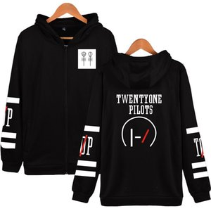 Twenty One Pilots Menshoodies-Sweatshirt Hip Hop Frauen Harajuku Maxi-Anzug Männer Sudaderas Hombre