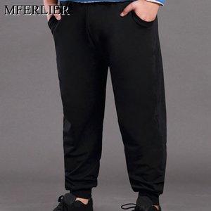 Spring autumn plus size men pants 5XL 6XL 7XL 8XL Loose 2 color men pants