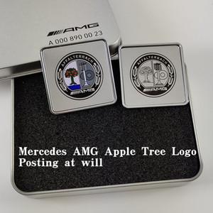 Etiqueta aleatória Mercedes-Bz W205 Componente modificado C200L A45 E43 GLE320 GLS400 Etiqueta lateral da decoração da carroçaria para veículo especial reformado