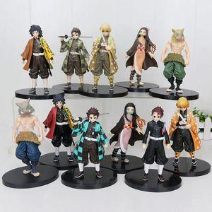 2020 16 centimetri Demon Slayer azione Kimetsu figura Kamado Tanjirou Nezuko PVC figura modello Figuals regali dei giocattoli