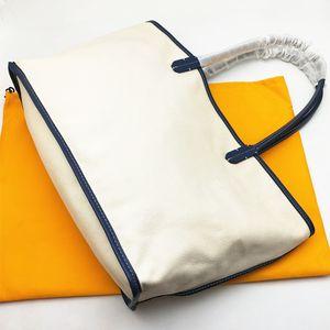 Mulheres Moda Handbag Lady Shopping Bag Sacolas da lona com uma verdadeira real acabamento em couro e alça