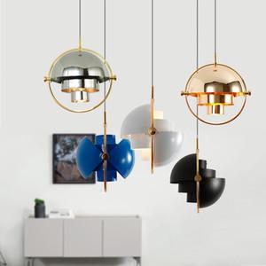 Дизайнер пост-современный бар подвесной светильник ресторан исследование спальня прикроватная творческая личность полукруглая подвесная лампа AC 90-265V