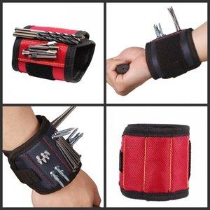 أداة المغناطيسي الاسورة الجيب حزام العملية المعصم أدوات حقيبة اليد أداة حزام للالقابضة مسامير مسامير مثقاب أداة إصلاح