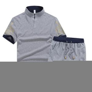 Marque Designer Hommes Survêtements Summer T-shirt + pantalon Ensembles sport Mode Ensembles à manches courtes Jogger Survêtement meilleure qualité Big Plus Size