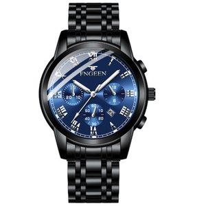2020 Hot Sale New Automatic Mechanical Watch Trend Fashion Quartz Men's Watch Waterproof Student Casual Wild Watch