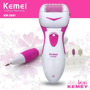 Kemei New Electric Peeling Cocoon Foot Polish Pedicure Manicure KM-2501 Free Shipping