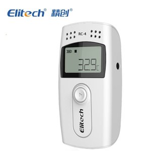 elitech rc-4 USB Temperature Data logger LCD Digital Temperature Recorder withexternal Sensor probe 16000 Points Usb thermometer free ship