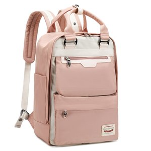 Both Shoulders Backpacks Women Laptop Backpack Girls High Junior School Bags Boys New Style Schoolbag With Switchable Surface Y200706