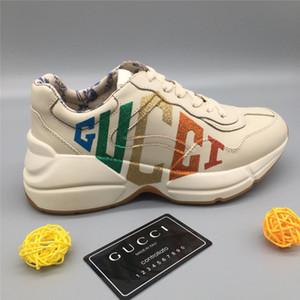 Marca Casal Designer tênis sapatilhas formadores sapatos de corrida para mens corredores das mulheres flats marca de Couro Genuíno racer sapatos de luxo