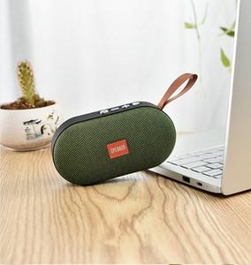 T7 Händen tragen bewegliche drahtlose Lautsprecher Lange Standby-Sound-System 3D-Stereo-Musik-Surround-Außen Sport Lautsprecher Stützfernsprechruf