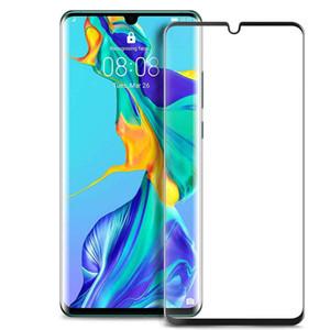 For Huawei P30 P20 Pro P8 P9 P10 Lite Plus P Smart Z 2019 9H Hardness Silk Screen Protector Anti Scratch Tempered Glass