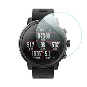 SIKAI New 2PCS TPU Watch Screen Protector For Huawei Amazfit Stratos 2  2S Smart Watch Screens Guard For Amazfit Stratos 2S