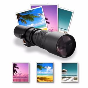 Lightdow 500mm F8.0 Lens Manual Telephoto Zoom Lens + T Mount Ring Adapter for Nikon D5100 D7000 D800 D90 D600 Canon Pentax DSLR