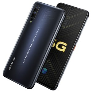 "Vivo d'origine iQOO Pro 5G LTE Cell Phone 12Go RAM 128Go ROM Snapdragon 855 plus Octa de base 6,41"" 48.0MP ID d'empreintes digitales visage Wake Téléphone portable"
