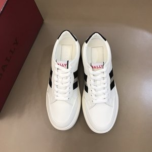 Top Quality ACE embroidered white designer shoes Luxury Designer Sneaker Genuine Leather Man Women Casual Shoes Size 38-44 R111